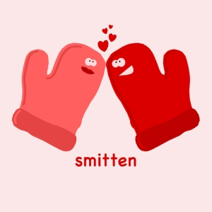 Smitten Mittens Valentine's Day T-Shirt